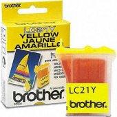 Brother Lc 21y Sarı Faks Kartuşu