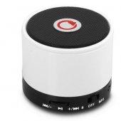 Mıkado Md 10bt Beyaz Bluetooth Speaker Mıcrosd+fm