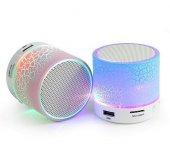 Yeni 2018 Mikrofonlu Işıklı Transparan Bluetooth Ses Bombası Müzi
