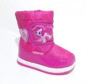 Akınalbella My Little Pony Fuşya Kız Çocuk Kar Botu