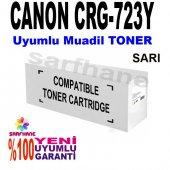 Canon Lbp 7750cdn Uyumlu Sarı Toner Crg 723y