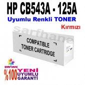 Hp Cp1215 Cp1515 Cm1312 Kırmızı Muadil Toner Cb543a 125a
