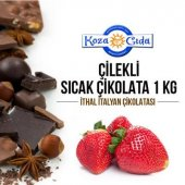 Koza Çilek Aromalı Kakaolu Sıcak Çikolata 1000 Gr