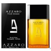 Azzaro Pour Homme Edt 100ml Rechargeable Refillable