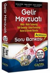 çanta 2015 Gelir Mevzuatı Açıklamalı Soru Bankası (2.baskı) Çanta Yayınları