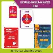 Deha Smmm Staja Giriş Soru Bankası+deneme+konu Tarama Testleri 3 Lü Set Deha Yayınları