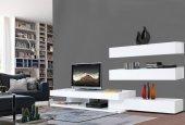 Calitelli Elit Çekmeceli Tv & Duvar Ünitesi Şık İtalyan Tasarım