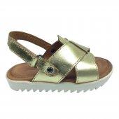 Tıpış Tıpış Trend Kız Çocuk Sandalet Ayakkabı 100 Hakiki Deri
