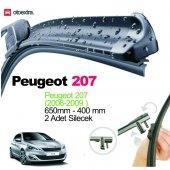 Peugeot 207 Muz Silecek Seti 65cm + 40cm