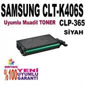 Samsung C410 C460 Clp365 Siyah Muadil Toner K406s