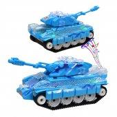 Otomatik Direksiyon Oyuncak Işıklı Savaş Ve Barış Tankı 24 Cm