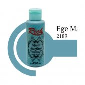 Rich Multi Surface 2189 Ege Mavi Akrilik Boya 130 Cc