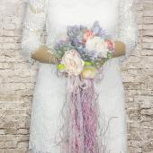 Gelin El Buketi Hediye Yaka Çiçeği Model 33