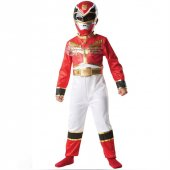 Power Rangers Red Ranger Klasik Çocuk Kostümü 3 4 Yaş