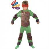 Ninja Kaplumbağalar Çocuk Kostümü 7 8 Yaş