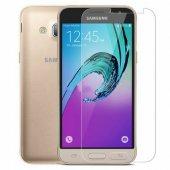 Samsung Galaxy J3 Pro Temperli Dayanıklı Cam Ekran Koruyucu