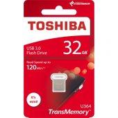 Toshiba Towadako 32gb Usb3.0 Metal Thn U364w0320e4