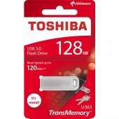 Toshiba 128gb Usb 3.0 Bıwako Mini Metal Usb Bellek Thn U363s1280e4