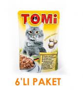 Tomi Tavşanlı Ve Kanatlı Kedi Yaş Maması 100 Gr