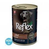 Reflex Plus Biftekli Soslu Köpek Konservesi 400 Gr