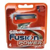 Gillette Tıraş Bıçağı Fusion Power 4 Lü Başlık