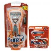 Gillette Fusion Power 1up Tıraş Makinesi +fusion Power 4 Başlık