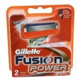 Gillette Tıraş Bıçağı Fusion Power 2 Li Başlık