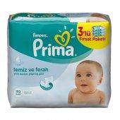 Prima Islak Havlu Mendil Fresh 64 Lü 3 Lü Fırsat Paketi
