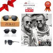 Zolo Eyewear M1088 Black 3p American Pilot Polarize Güneş Gözlüğü