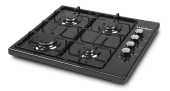 Set Üstü Ocak Kumtel Luxell Ko 420 Siyah Lpg (Tüplü) Set Üstü Ocak