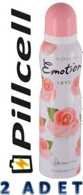 Emotion Deodorant Women Love 150 Ml * 2 Adet