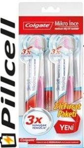 Colgate Diş Fırçası Mikro İnce 2 Li Fırsat Paket