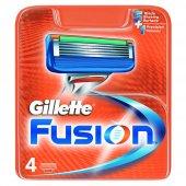 Gilette Fusion Bıçak 4lü
