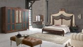 Armeno Ahşap Yatak Odası
