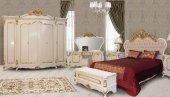 Hansoy Beyaz Klasik Yatak Odası