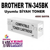 Brother Tn 345, Tn 325, Tn 315bk Siyah Muadil Tone...