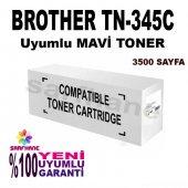 Brother Tn 345, Tn 325, Tn 315c Mavi Muadil Toner