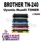 Brother Tn 240, Tn 230, Tn 210 4 Renk Muadil Toner