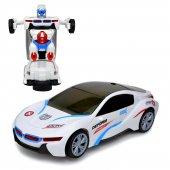 Otomatik Direksiyon Bmw İ8 Oyuncak Robot Dönüşen Araba