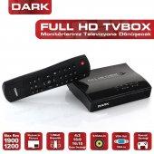 Dark Harici Tv Box 1920x1200 Analog Tv Kartı Dk Ac Tvbox1920