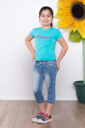 Ottomama Kız Çocuk Kot Kapri