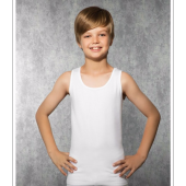 6lı Paket Tutku 0124 Penye Erkek Çocuk Atlet