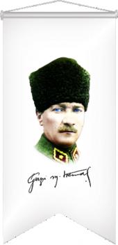 Atatürk Resmi Kırlangıç 50x150