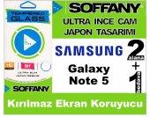 Soffany Samsung Note 5 Kırılmaz Ekran Koruyucu Temperli Cam