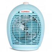 Kumtel Lx 6331 2000 Watt Fanlı Isıtıcı Elektrikli Soba Elektrikli Fan Mavi