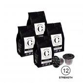Cru Kafe 100 Organik Nespresso Uyumlu Kapsül (Intense 12)4 Adet