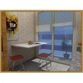 Açılır Kapanır Duvara Monte Mutfak Masası