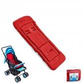 Babyjem Bebek Arabası Puset Minderi Kırmızı