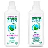 U Green Clean 2li Çamaşır Yıkama Seti 1000 Ml (Deterjan+yumuşatıcı)