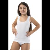 6lı Paket Erdem 4053 Kız Çocuk Ribana Geniş Pliseli Kaşkorse